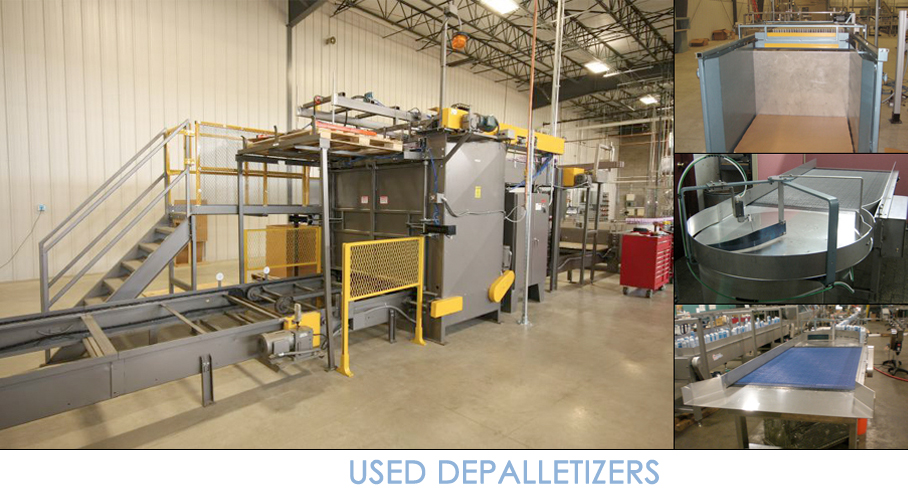 used_depalletizers